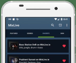 MixLive Radio App